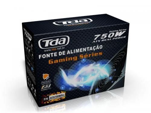 Fonte REAL ATX 750W Gamer Tenda