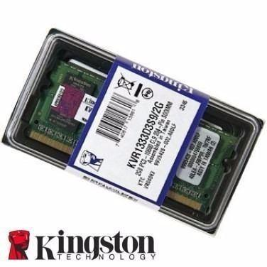 Memoria Notebook 2GB DDR3 1333 Kingston