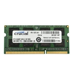 Memoria de Notebook  DDR3 4GB 1600Mhz -  Crucial