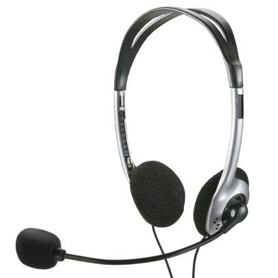 Fone Headset  PH002 Preto Multilaser