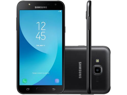 Smartphone Samsung Galaxy J7 Neo 16GB Preto - Dual Chip 4G  Octa Core 13MP Tela 5,5? HD