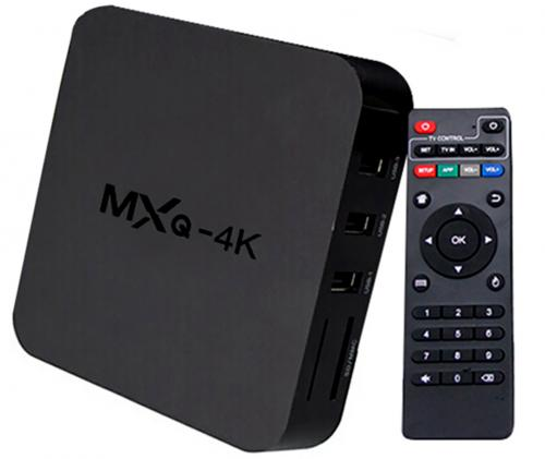 Receptor Android TV Box 4K Ultra HD
