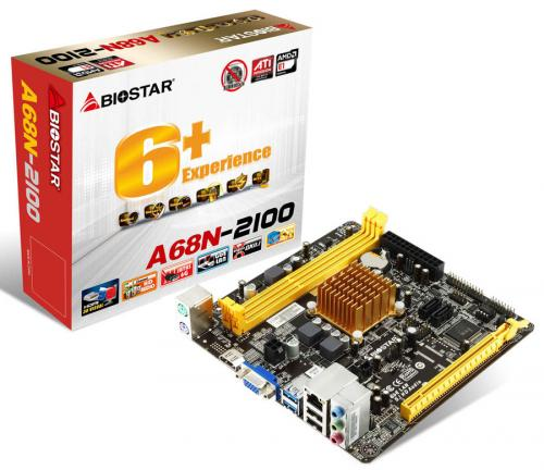 Placa Mae Mini A68N-2100 Integrada AMD Fusion APU E1-2100