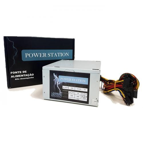 Fonte REAL ATX 500W Power Station