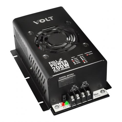 Fonte Nobreak Full Power 200W 24V / 7A - Volt