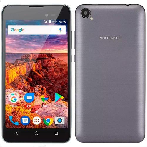 Smartphone Multilaser MS50L 3G Grafite, Android 7.0 Cam 8MP