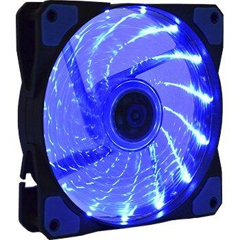 Cooler p/ Gabinete FAN LED 120mm AF-D1225 Azul