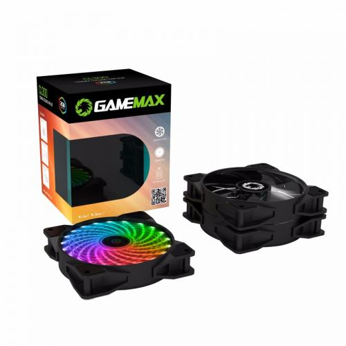 Cooler Led Kit C/3 + Controle Remoto CL300 Gamemax