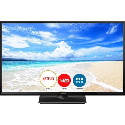 Smart TV LED HD 32, 2 HDMI, 1 USB, Wi-Fi, Bluetooth - Panasonic