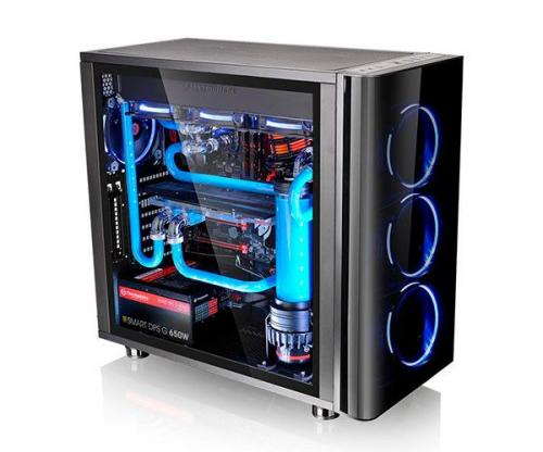 Gabinete Gamer View 31 Lateral Transparente - Thermaltake