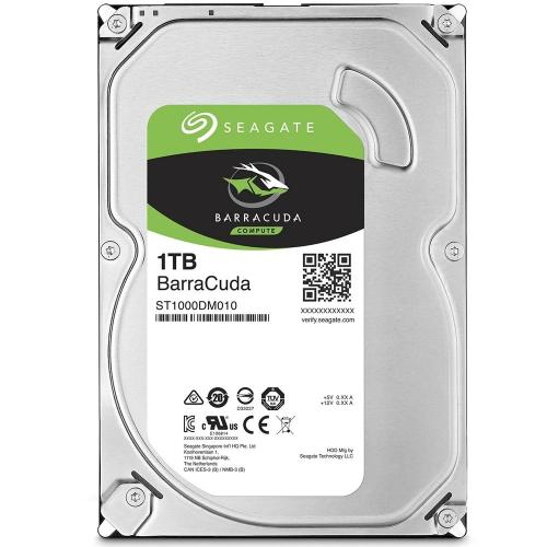 HD 1T Sata III 7200 RPM 64MB Barracuda - Seagate