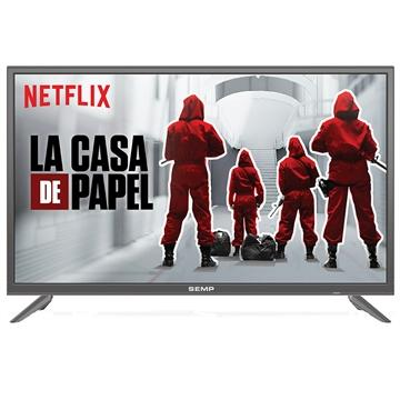 Smart TV LED 32'' HD Semp TCL L32S4900S 3 HDMI 2 USB Wi-Fi Integrado Conversor Digital