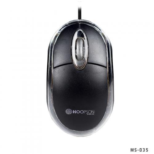 Mouse USB MS-035 Preto Hoopson