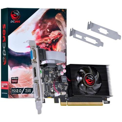 Placa de Video 1GB Radeon HD5450 DDR3 64bits PcYes