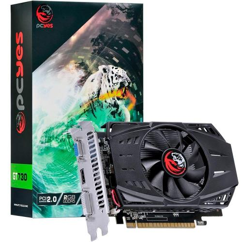 Placa de Vídeo  2GB DDR5 64 Bits PCI-E 2.0 GT730 PCYes