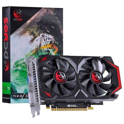Placa de Vídeo  1GB DDR5 128 Bits PCI-E 2.0 GTX550TI PCYes