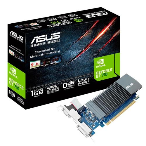 Placa de Vídeo Asus 1GB DDR5 32 Bits PCI-E 2.0 GT710
