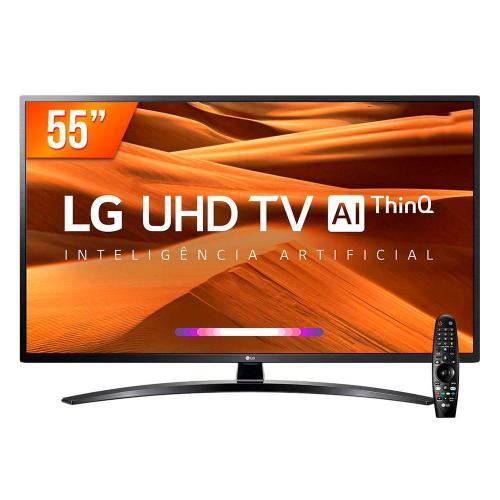 Smart TV LG LED 55´ 4K , 4 HDMI, 2 USB, Bluetooth, Wi-Fi, - 55UM761C0SB.BWZ