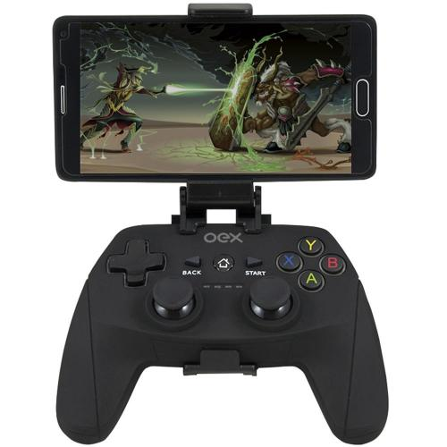 Gamepad Bluetooth c/ Suportorte Origin GD100 Preto OEX