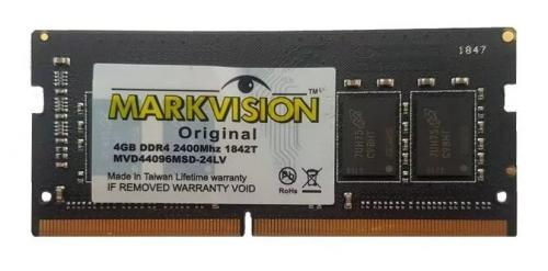 Memória p/ Notebook DDR4 4GB 2400Mhz - Markvision