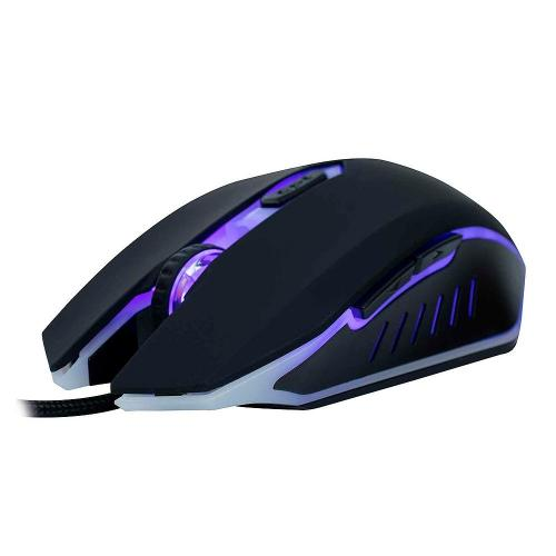 Mouse Gamer USB 3200DPI LED Action MS300 Preto OEX